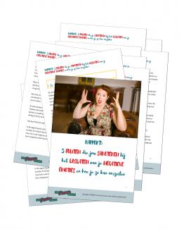 Pure PowerVrouwen - Rapport 5 fouten die je saboteren bij het loslaten van je negatieve emoties